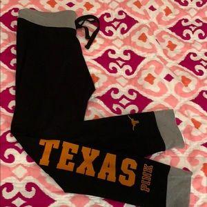 Like New PINK Texas Yoga Pants